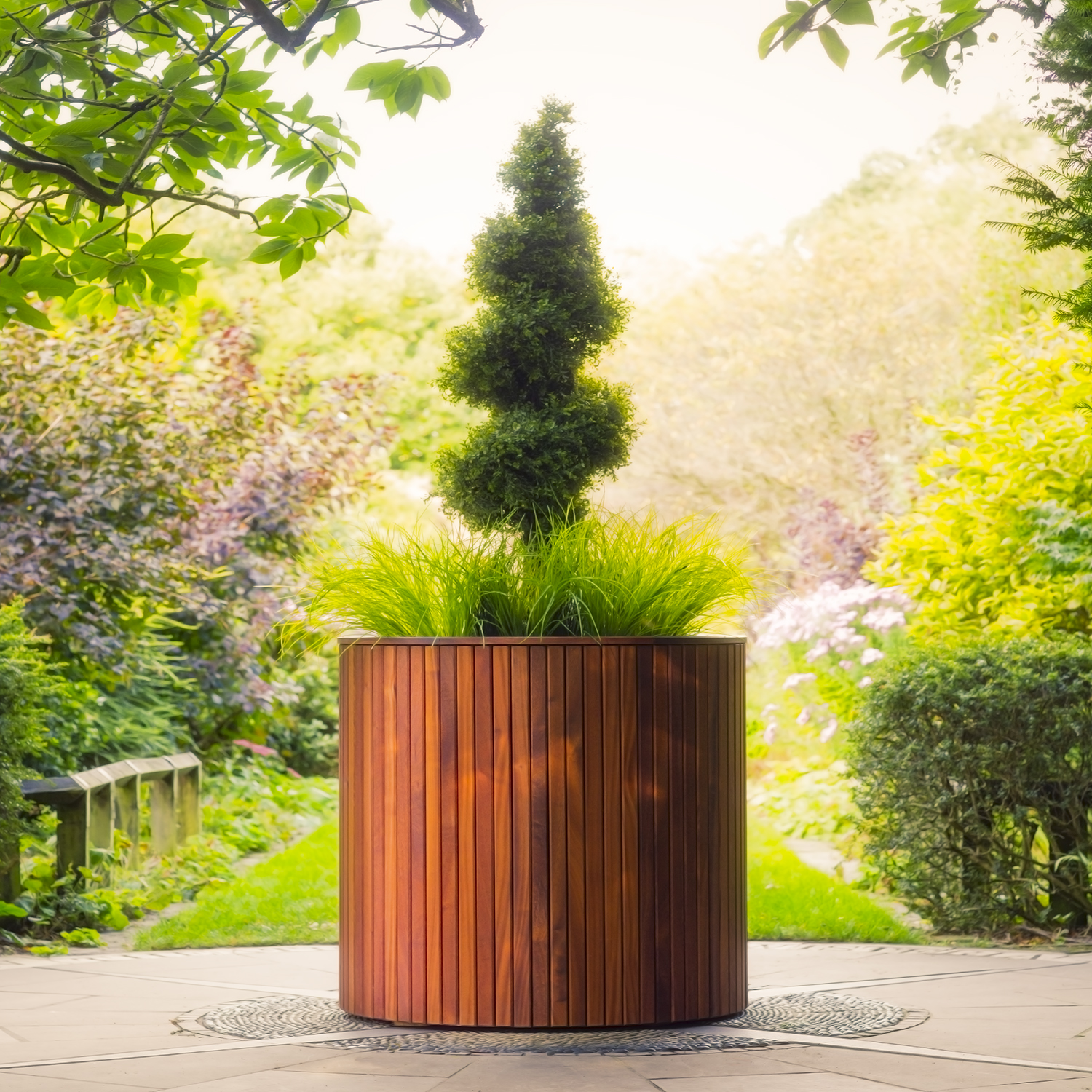 Timber Wooden Planters by Europlanters