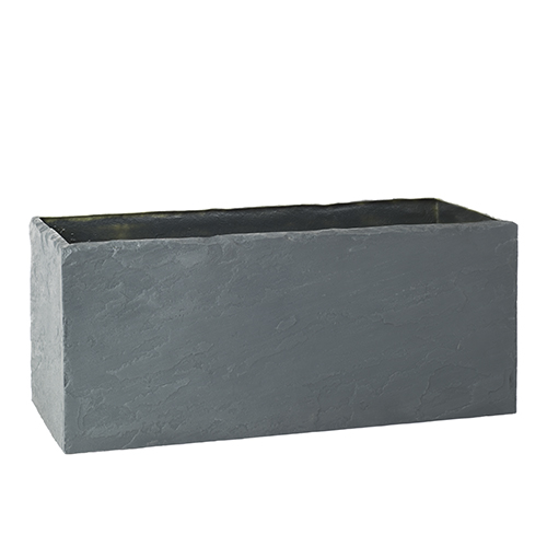 SLATE LOOK TROUGH PLANTER EUROPLANTERS
