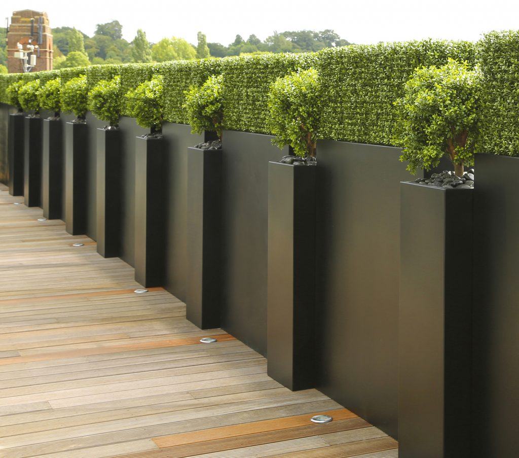 Tall trough Planter in GRP