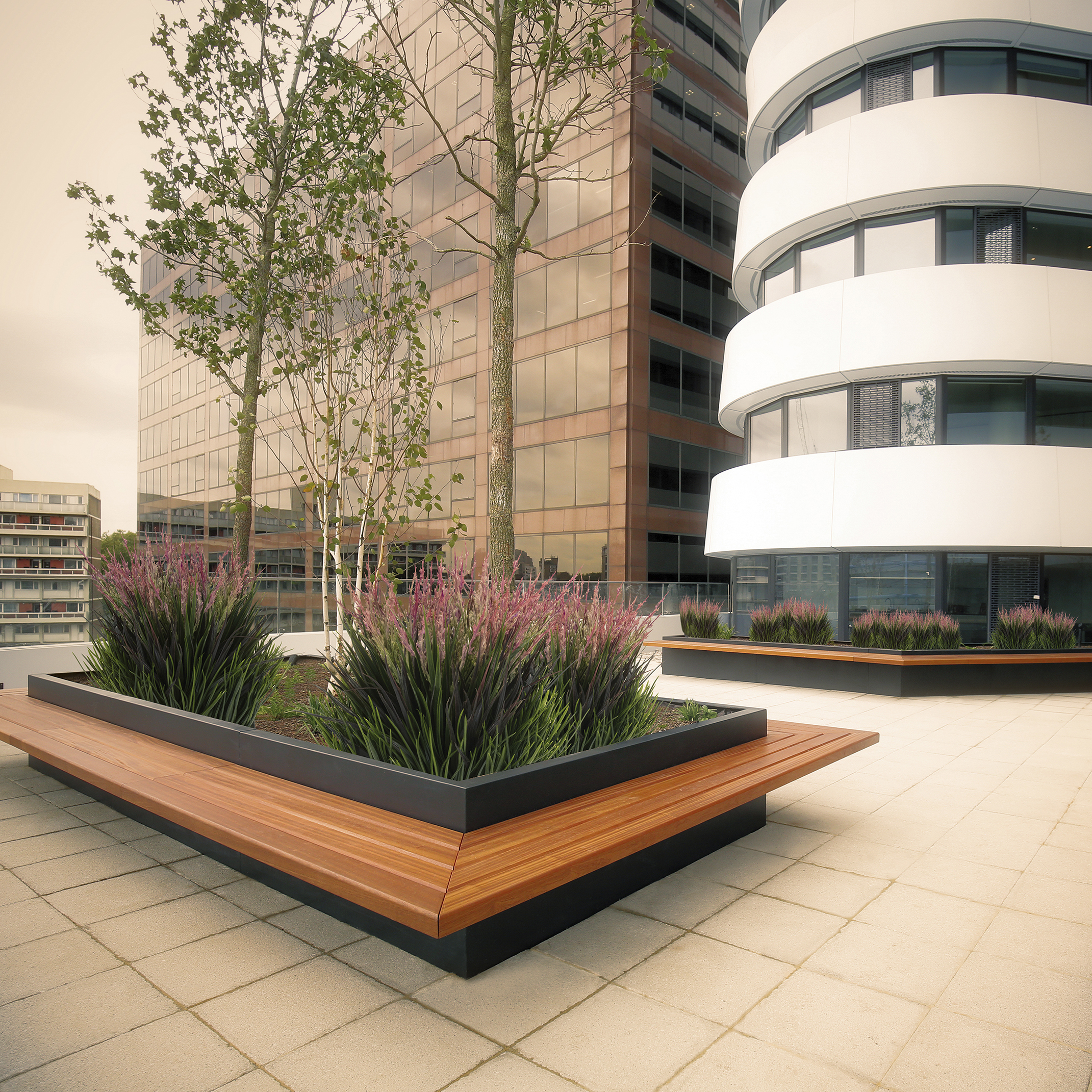 Floating Bench Quality Hardwood Timber Seating By Europlanters