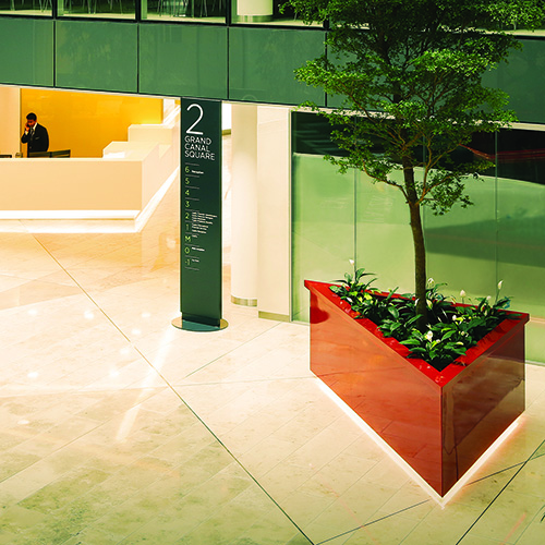 Bespoke Planters by Europlanters