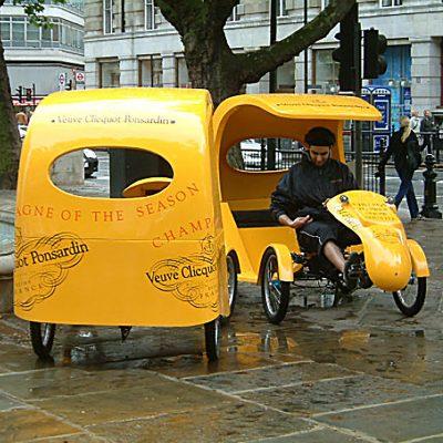 Bespoke Rickshaw in GRP