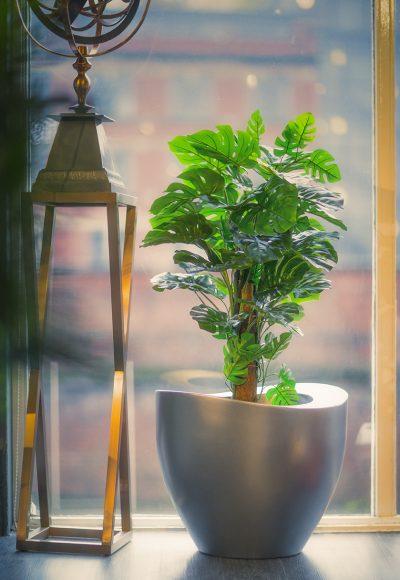 STADIUM planter in GRP
