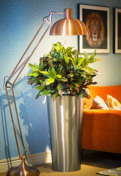 STAINLESS STEEL CONICAL METAL Planter