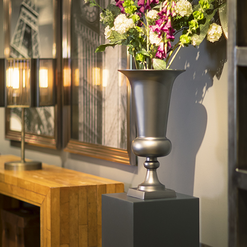 Floral vase Planter by Europlanters