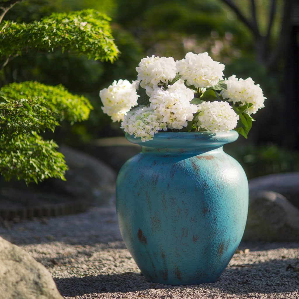 Verdigris Planter Effects by Europlanters