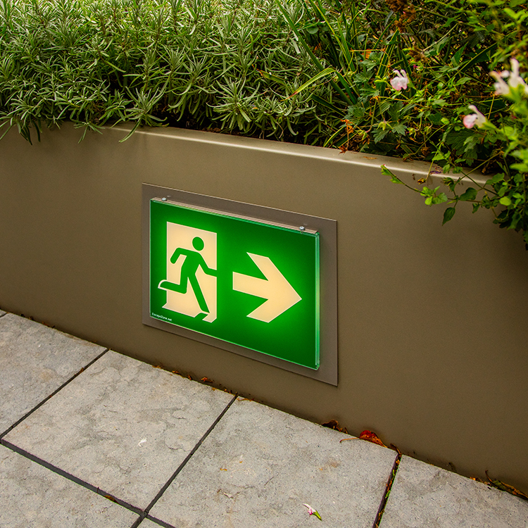 illuminated signage button