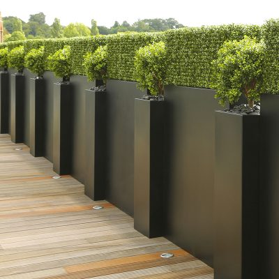 ARTIFICIAL HEDGING and TOPIARY for PLANTERS