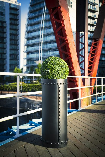 RIVETED Planters in GRP