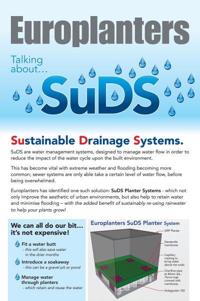 Europlanters SUDS leaflet