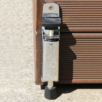 Hidden lock castors for planters by Europlanters